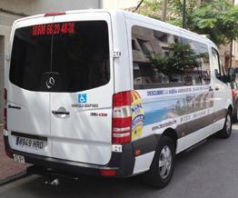 Taxi adaptado discapacitados